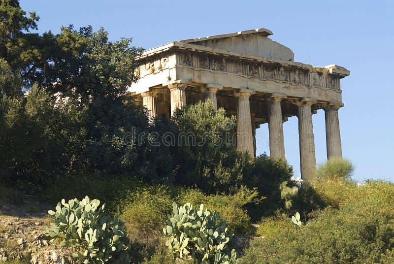 ναός hephaestus της Αθήνας στοκ εικόνες