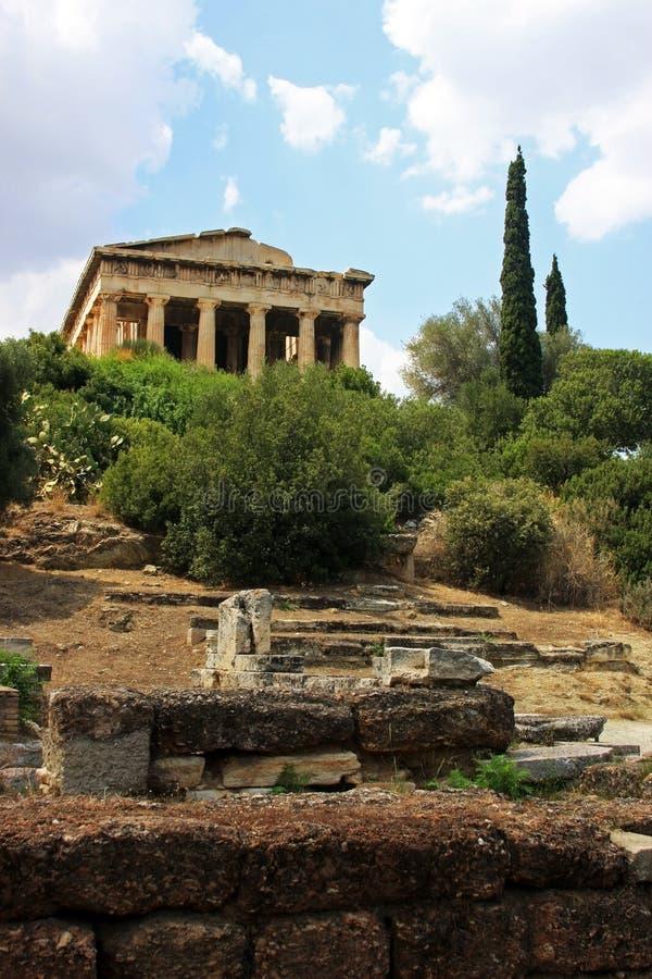 ναός hephaestus της Αθήνας στοκ εικόνες με δικαίωμα ελεύθερης χρήσης