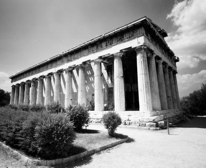 ναός hephaestus στοκ εικόνες με δικαίωμα ελεύθερης χρήσης