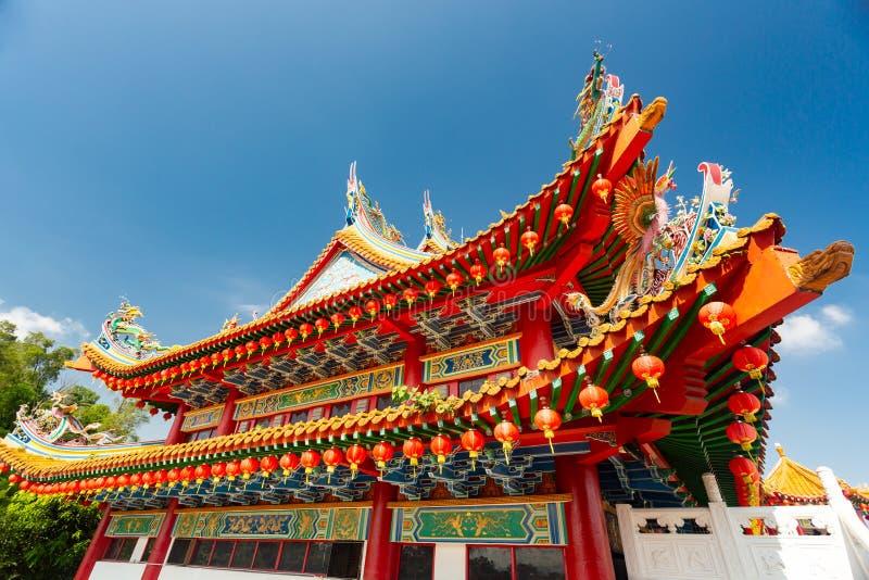 Ναός Hou Thean, Κουάλα Λουμπούρ στοκ εικόνες