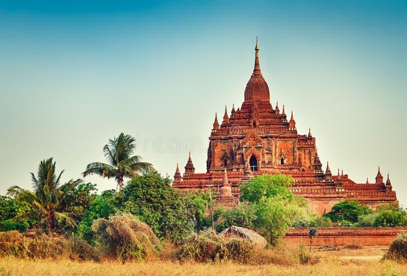 Ναός Htilominlo σε Bagan Myanmar στοκ φωτογραφίες με δικαίωμα ελεύθερης χρήσης