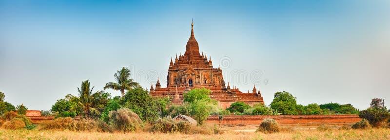 Ναός Htilominlo σε Bagan Myanmar στοκ εικόνες