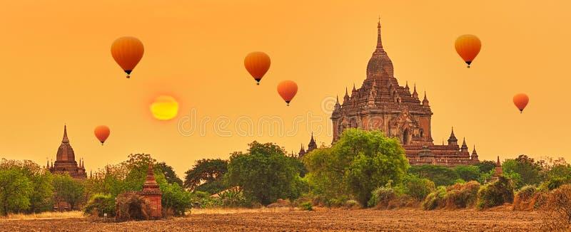 Ναός Htilominlo σε Bagan Myanmar στοκ εικόνα με δικαίωμα ελεύθερης χρήσης