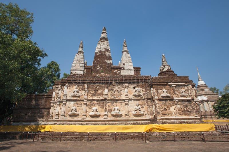 Ναός Jed Yod Wat, Chiang Mai, Ταϊλάνδη στοκ εικόνες
