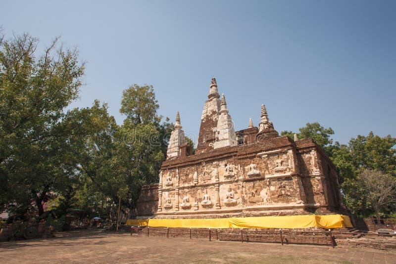 Ναός Jed Yod Wat, Chiang Mai, Ταϊλάνδη στοκ εικόνα με δικαίωμα ελεύθερης χρήσης