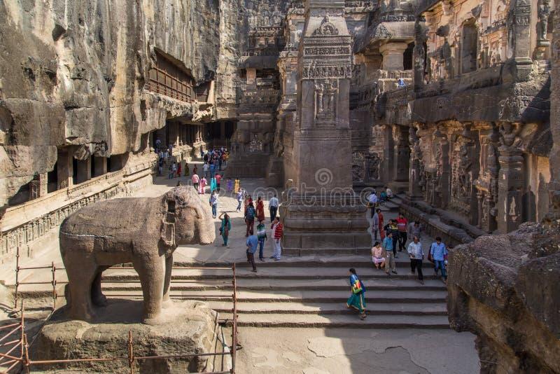 Ναός Kailasa στοκ φωτογραφία με δικαίωμα ελεύθερης χρήσης