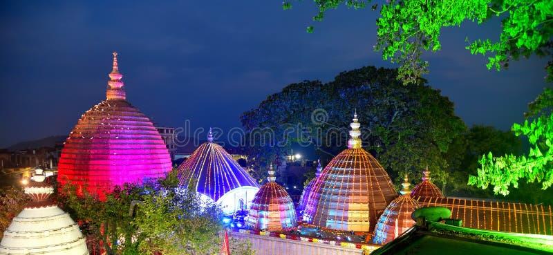 Ναός Kamakhya, Guwahati στοκ φωτογραφία