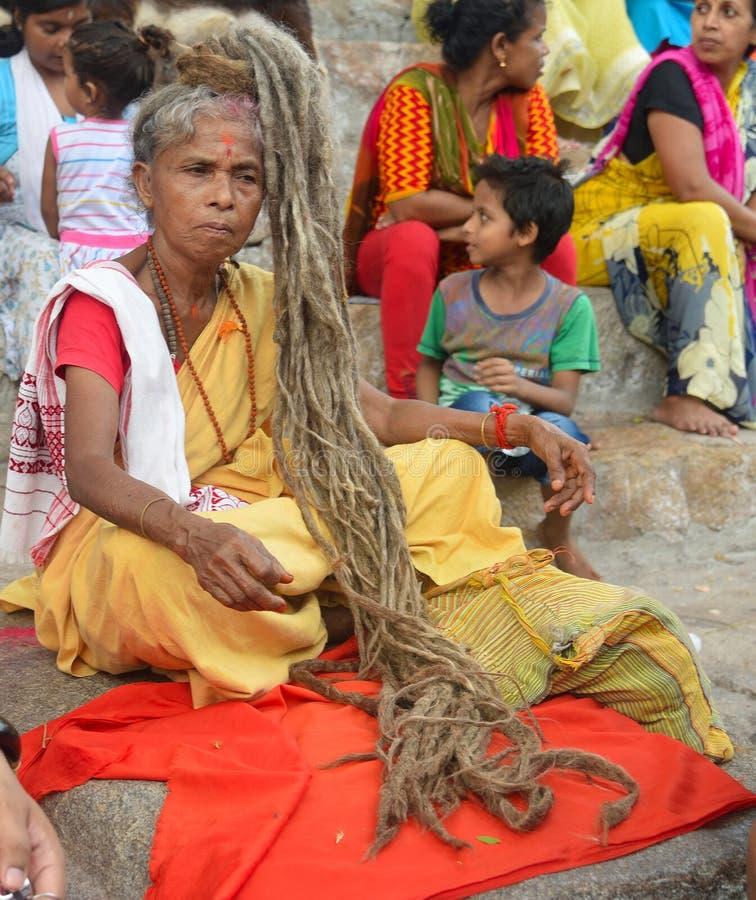 Ναός Kamakhya, Guwahati στοκ φωτογραφία με δικαίωμα ελεύθερης χρήσης