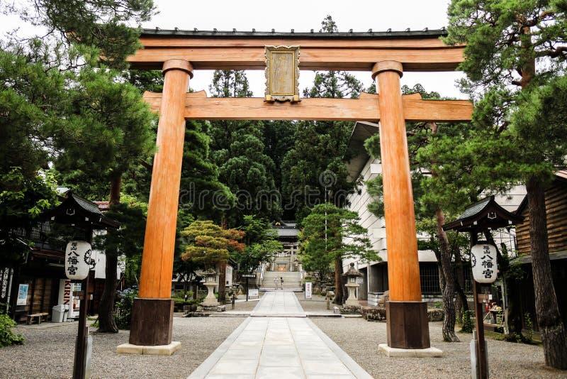 Ναός Kanazawa στοκ φωτογραφία