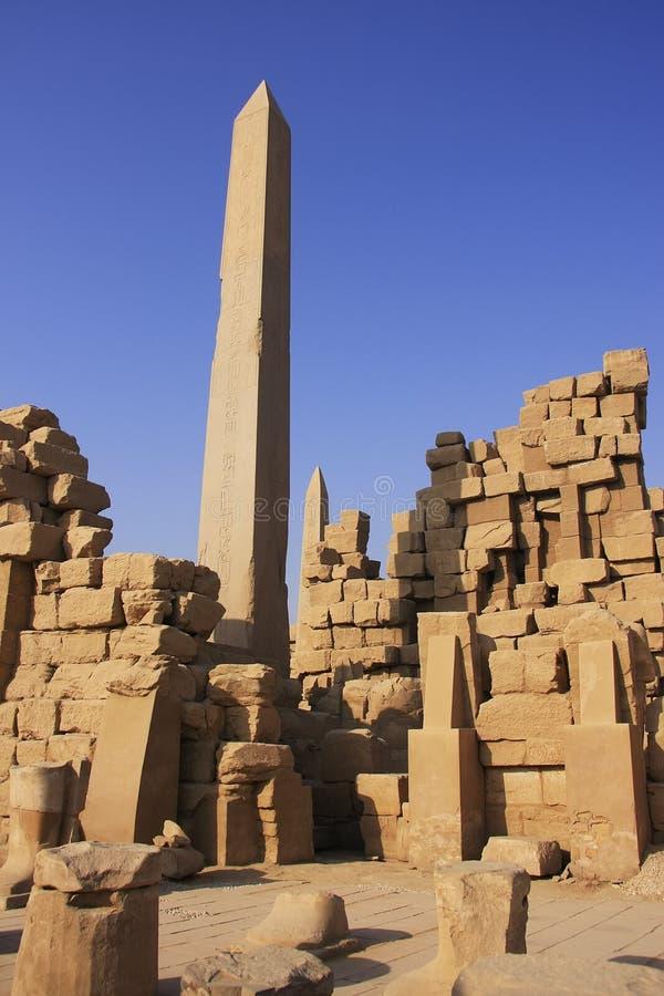 Ναός Karnak σύνθετος, Luxor στοκ εικόνες