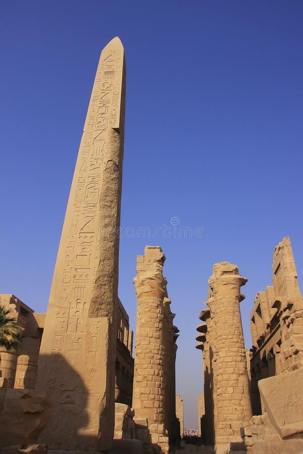 Ναός Karnak σύνθετος, Luxor στοκ φωτογραφία με δικαίωμα ελεύθερης χρήσης