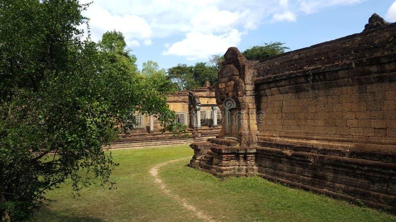 Ναός Kdey Banteay στοκ φωτογραφία