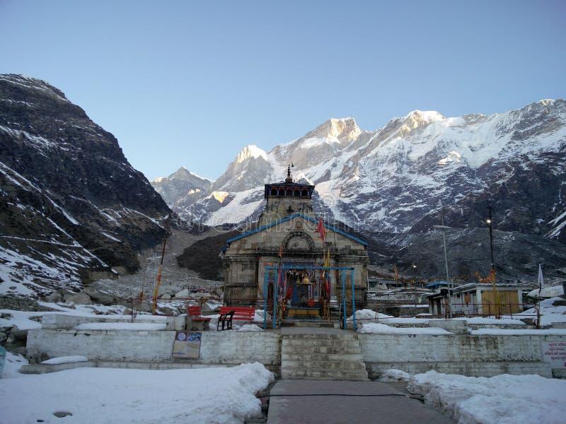 Ναός Kedarnath στοκ φωτογραφία με δικαίωμα ελεύθερης χρήσης