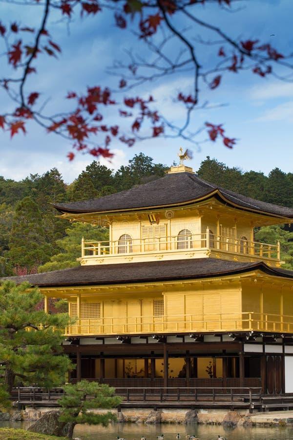 Ναός kinkaku-Ji στοκ εικόνες