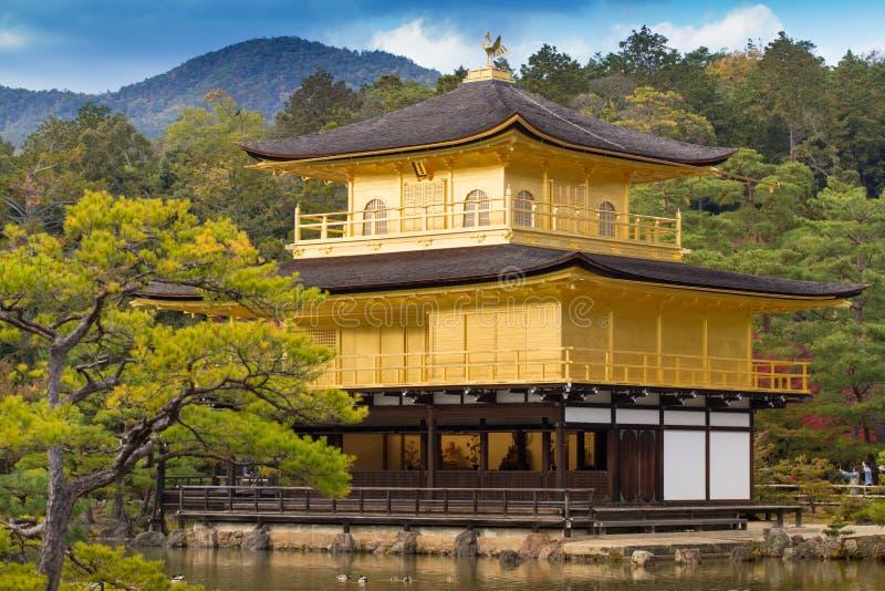 Ναός kinkaku-Ji στοκ φωτογραφία με δικαίωμα ελεύθερης χρήσης