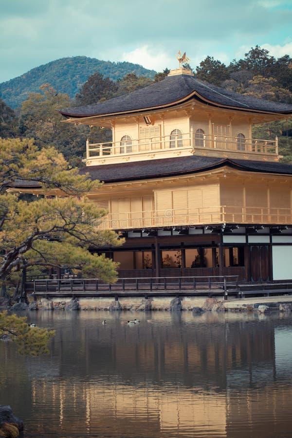 Ναός kinkaku-Ji στοκ εικόνες με δικαίωμα ελεύθερης χρήσης