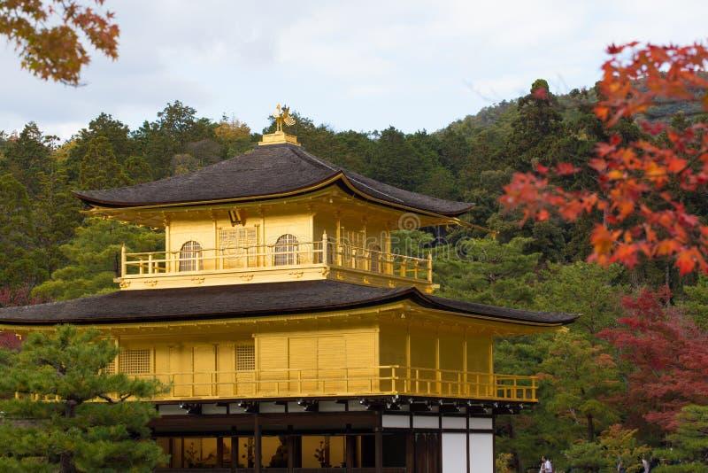 Ναός Kinkaku-kinkaku-ji, στοκ φωτογραφία