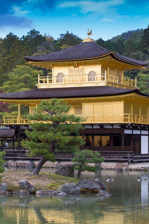 Ναός Kinkaku-kinkaku-ji, στοκ εικόνες