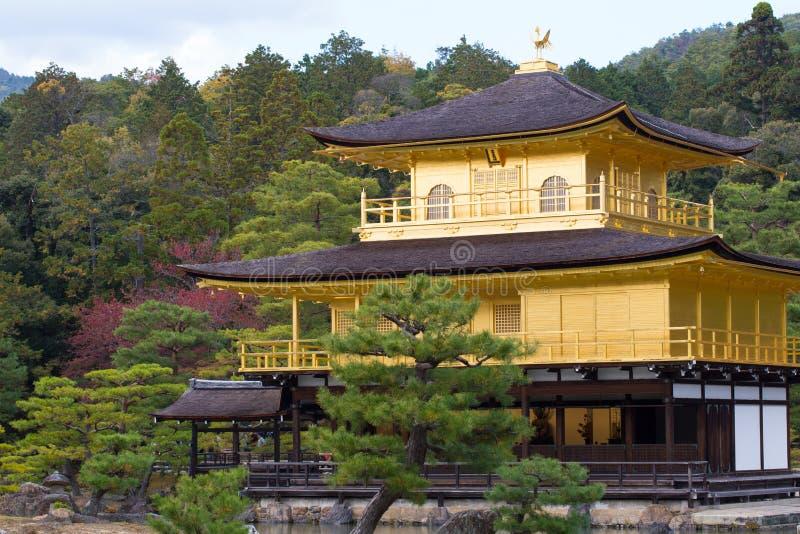Ναός Kinkaku-kinkaku-ji, στοκ εικόνα με δικαίωμα ελεύθερης χρήσης