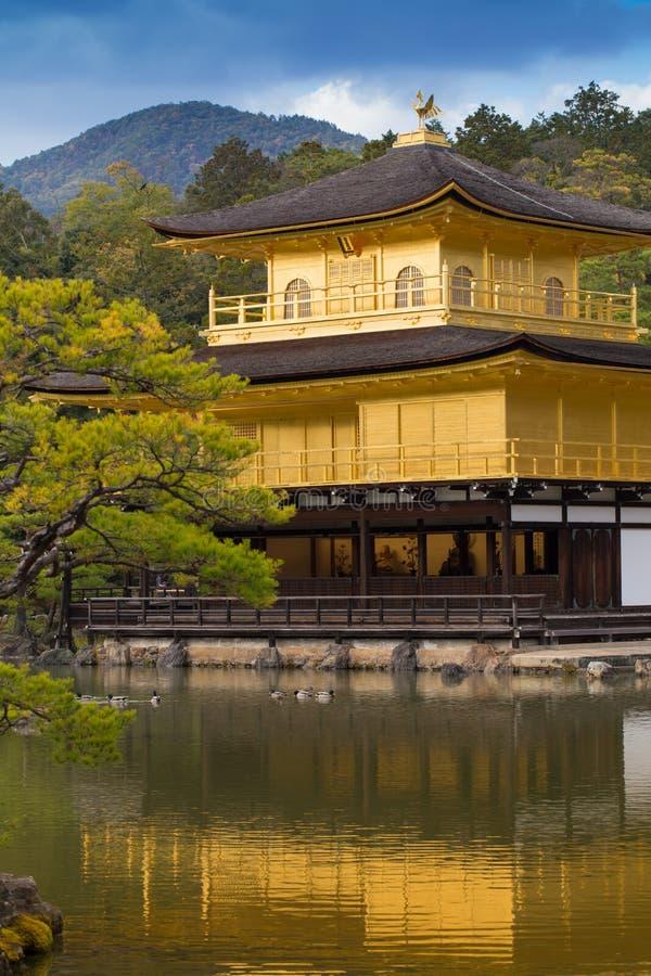 Ναός Kinkaku-kinkaku-ji, στοκ φωτογραφία με δικαίωμα ελεύθερης χρήσης