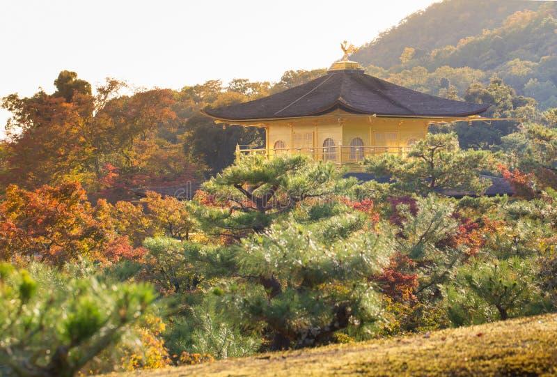 Ναός Kinkaku-kinkaku-ji, στοκ εικόνα