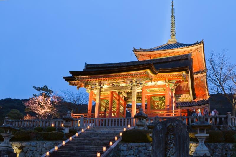 Ναός Kiyomizu στοκ εικόνα