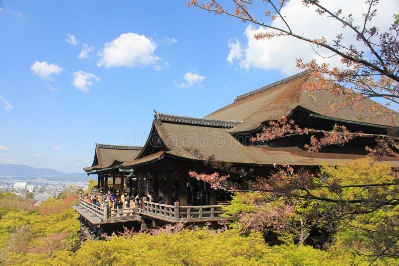 Ναός kiyomizu-Dera στοκ εικόνες