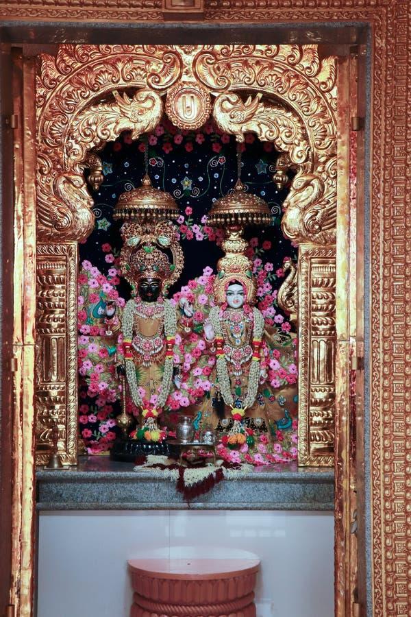 Ναός Krishna Radhe - Ινδία στοκ φωτογραφία με δικαίωμα ελεύθερης χρήσης