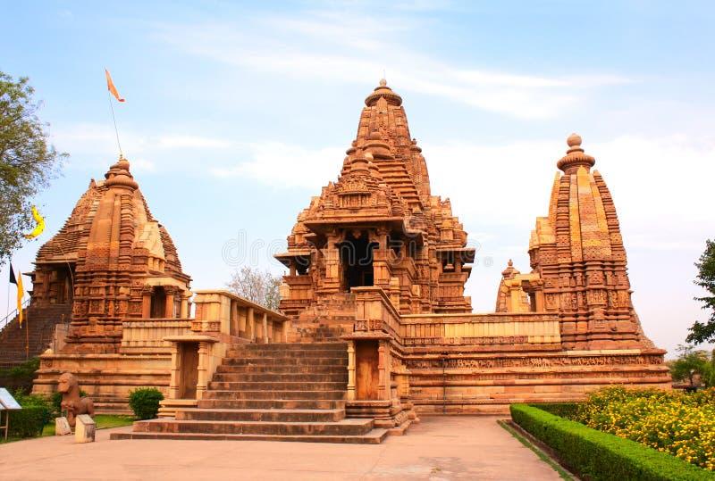 Ναός Lakshmana σε Khajuraho, Madhya Pradesh, Ινδία στοκ εικόνες