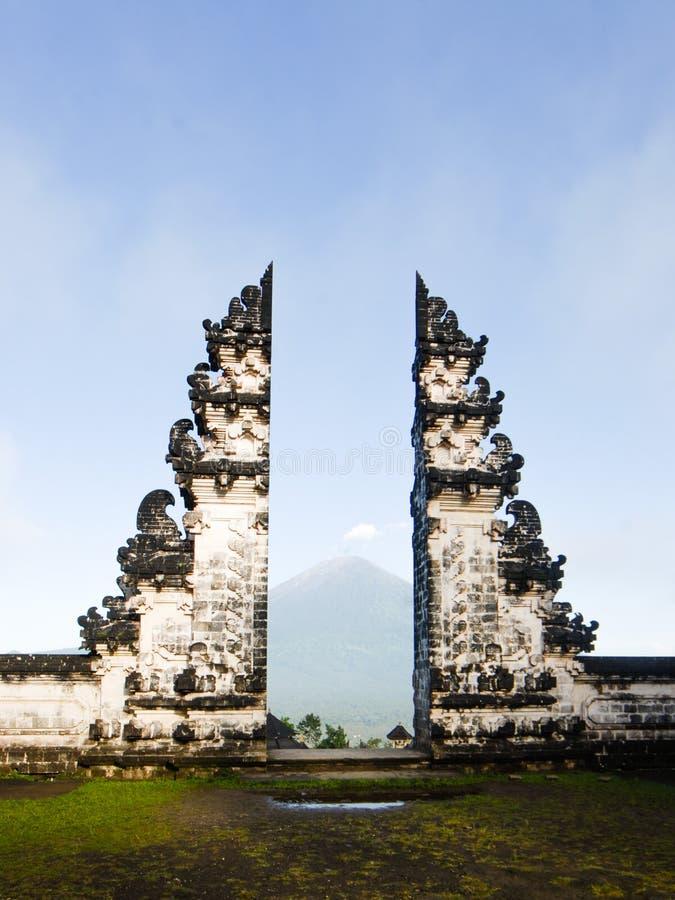 Ναός Lempuyang στοκ φωτογραφία με δικαίωμα ελεύθερης χρήσης