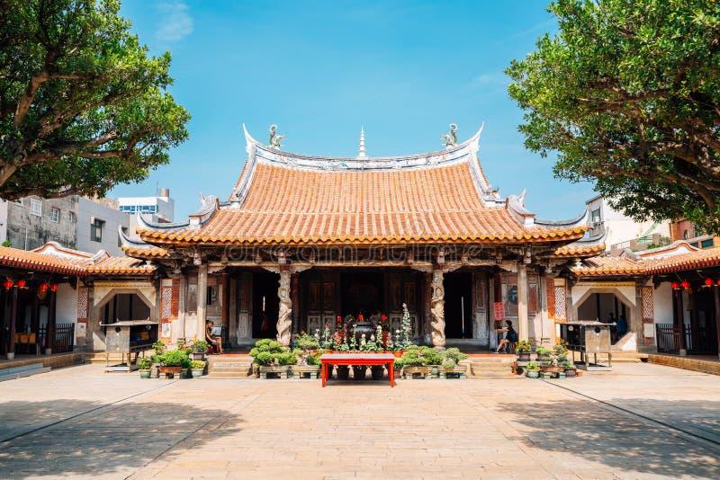 Ναός Lungshan Lukang στην Ταϊβάν στοκ εικόνα με δικαίωμα ελεύθερης χρήσης