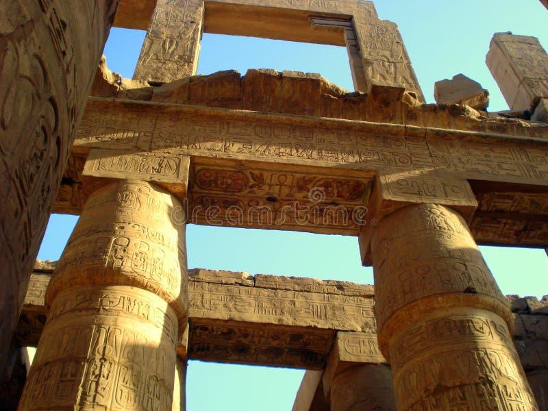 ναός luxor της Αιγύπτου στοκ φωτογραφίες