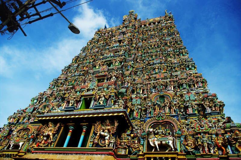 Ναός Meenakshi Sri στοκ εικόνα