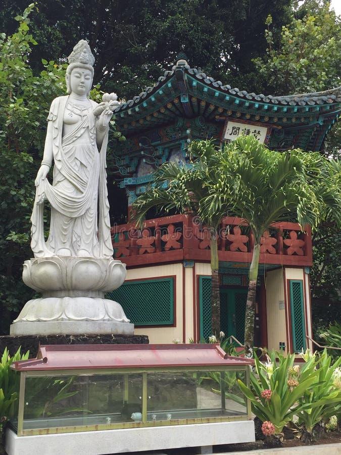 Ναός MU-Ryang Sa στοκ φωτογραφίες με δικαίωμα ελεύθερης χρήσης