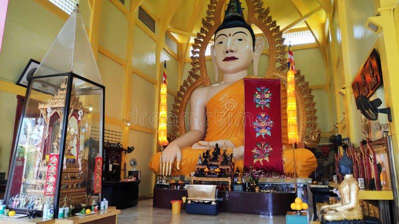 Ναός Muni Βούδας Gaya Sakya την σε λίγη Ινδία στη Σιγκαπούρη στοκ φωτογραφίες με δικαίωμα ελεύθερης χρήσης