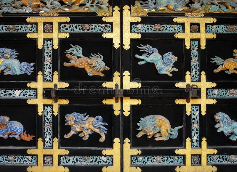 ναός nishi της Ιαπωνίας Κιότο honganji στοκ εικόνα με δικαίωμα ελεύθερης χρήσης