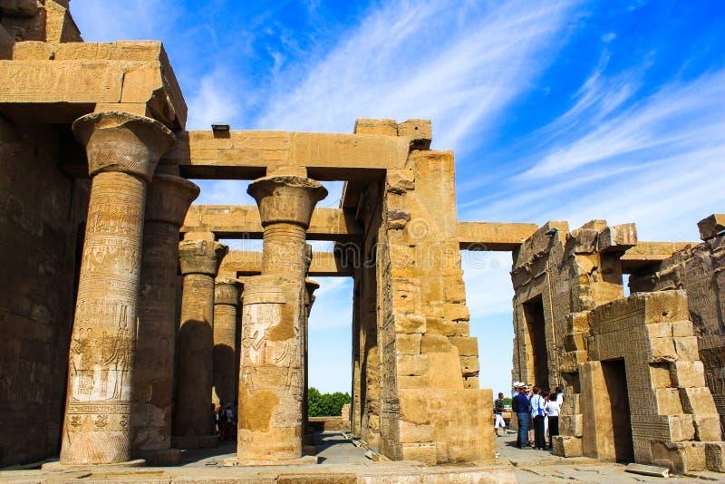 Ναός Ombo Kom, Αίγυπτος στοκ εικόνα με δικαίωμα ελεύθερης χρήσης