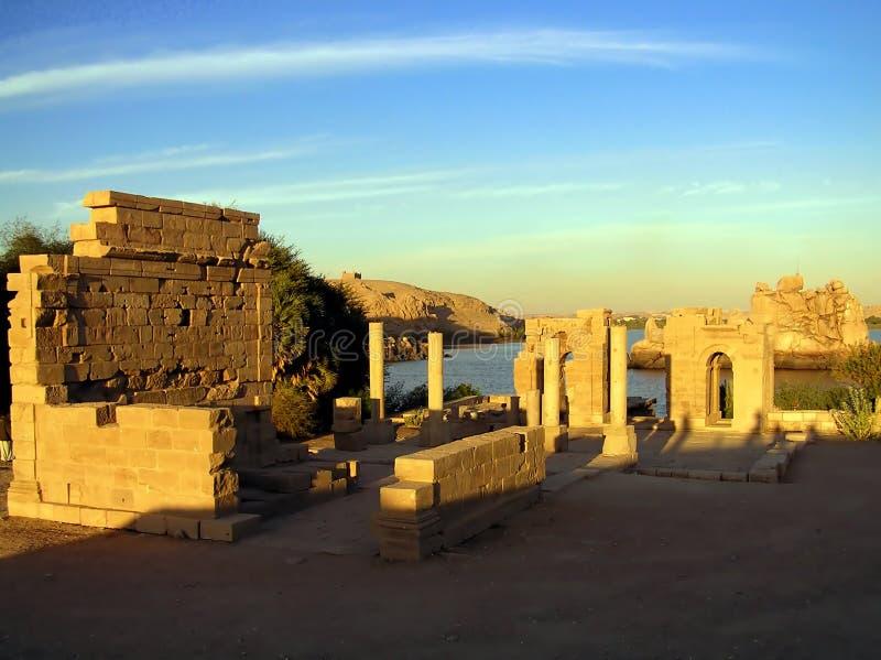 ναός philae στοκ εικόνα