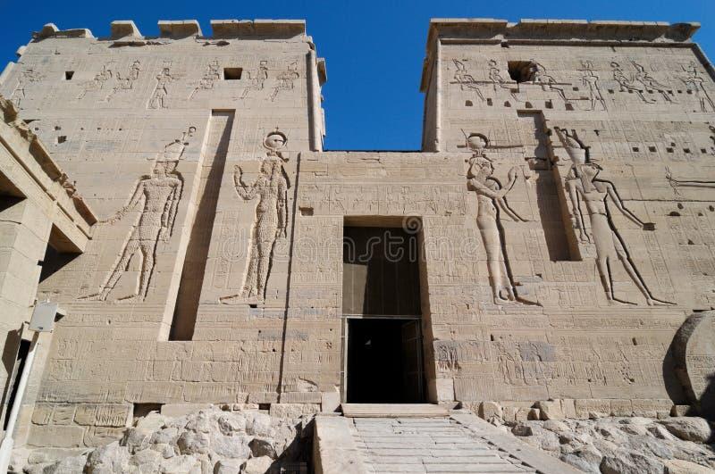 ναός philae στοκ εικόνες