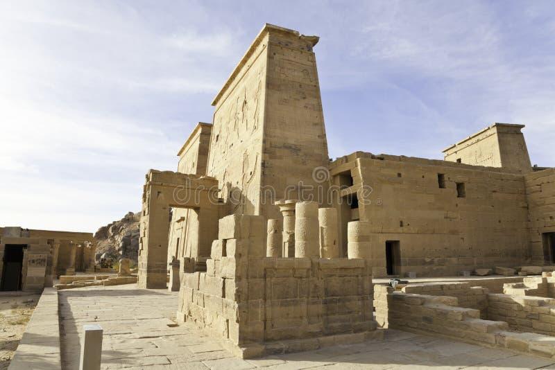 Ναός Philae isis στοκ φωτογραφία