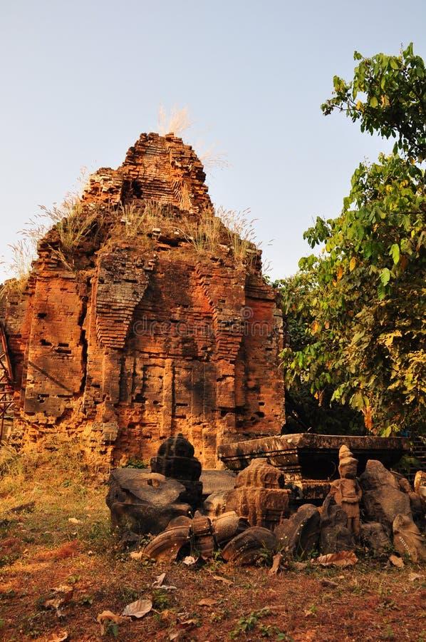 Ναός Phnom Bakheng, Angkor, Καμπότζη στοκ φωτογραφία με δικαίωμα ελεύθερης χρήσης