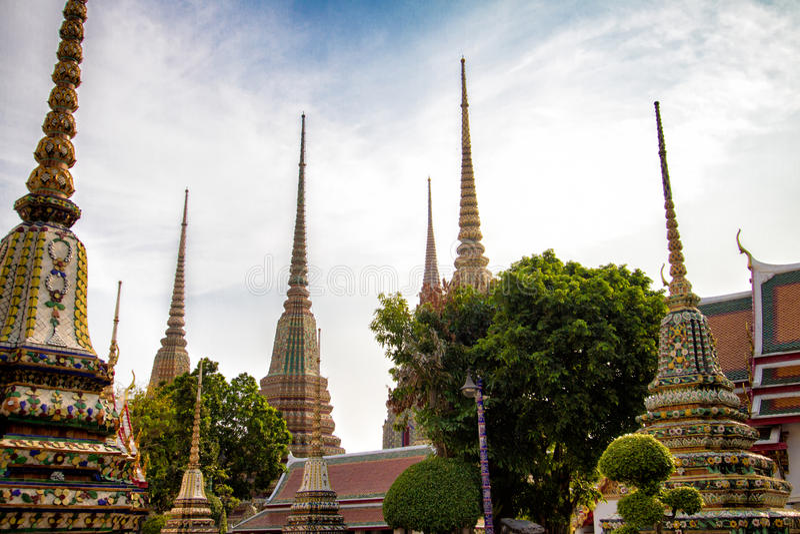 ναός pho της Μπανγκόκ wat στοκ φωτογραφίες με δικαίωμα ελεύθερης χρήσης