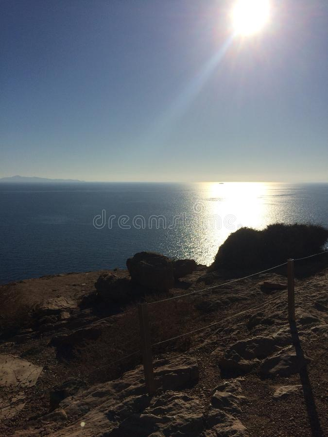 Ναός Poseidon Αθήνα στοκ φωτογραφίες με δικαίωμα ελεύθερης χρήσης