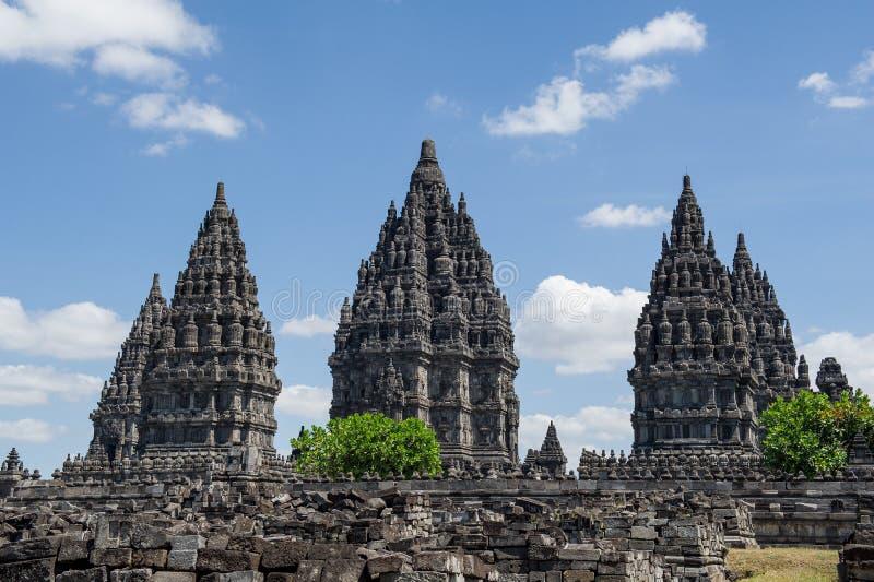 Ναός Prambanan, Ινδονησία 3 στοκ φωτογραφία με δικαίωμα ελεύθερης χρήσης
