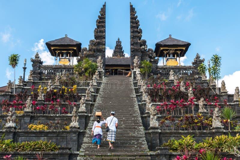 Ναός Pura besakih στοκ εικόνες