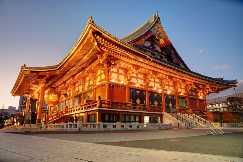 Ναός Sensoji, Τόκιο στοκ εικόνες με δικαίωμα ελεύθερης χρήσης