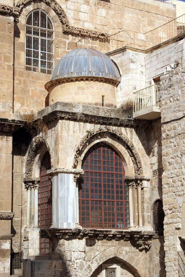 Ναός sepulcher στην Ιερουσαλήμ στοκ φωτογραφία