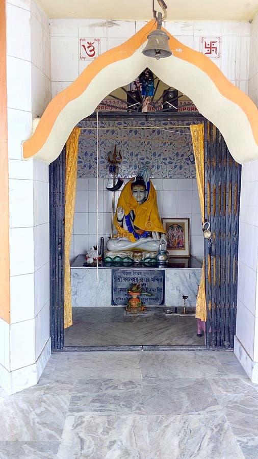 Ναός shiva Λόρδου σε Gaighata, δυτική Βεγγάλη στοκ εικόνες