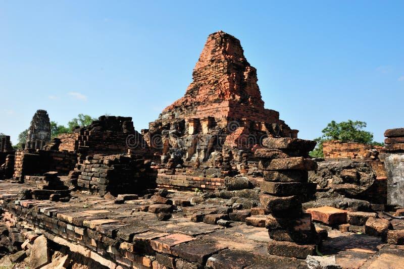 ναός sukhothai καταστροφών στοκ φωτογραφία με δικαίωμα ελεύθερης χρήσης