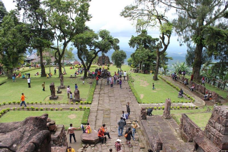 Ναός Sukuh στοκ φωτογραφία με δικαίωμα ελεύθερης χρήσης
